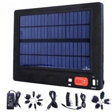 -20000 mAh outdoor portable solar charging treasure Tablet computer phone charger Multiple plug mobile power bank battery adapter on JD