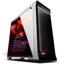 -Thunder God (ThundeRobot) P77 i7-8700 / 16G memory / 550W FSP power / 240G solid state drive / self-operated game console / eating chicken desktop assembly computer on JD
