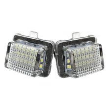 -Car LED License Plate Lamp for Mercedes-Benz W204(5D) W212 W216 W221 W207 on JD