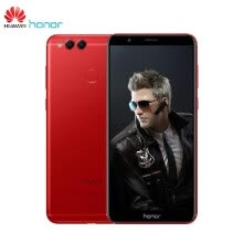 -Huawei Honor 7X Face ID Mobile Phone Bezel-less 5.93 inch 2160*1080P 4GB 128GB Octa Core Dual Rear Cameras 3340mAh Fingerprint And on JD