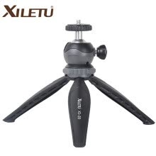 -XILETU XS-20 Mini Desktop little Phone Stand Tabletop Tripod for Vlog Mirrorless Camera Smart phone with Detachable Ball head on JD
