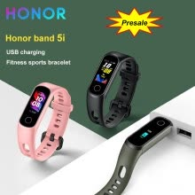 -Honor Band 5i Wristband Smart Bracelet USB Charging Music Control Blood Oxygen Monitoring Sports Fitness Bracelet Running Tracke on JD