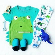 -Newborn Infant Baby Boys Girls Top T-shirt+Long Pants Outfits Cotton Clothes USA on JD