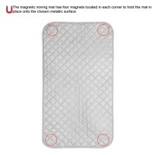 -Greensen Portable Foldable Anti-Slip Magnetic Ironing Pad Mat Blanket for Table Top & Travelling on JD