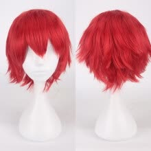 styling-tools-Gobestart Multi Color Short Straight Hair Wig Anime Party Cosplay Full sell Wigs 35cm on JD
