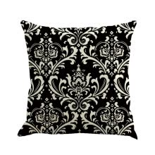 -〖Follure〗Geometry Painting Linen Cushion Cover Throw Pillow Case Sofa Home Decor BK on JD