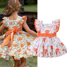 -Toddler Baby Princess Bridesmaid Kid Girl Sundress Dress Wedding Party Dresses on JD