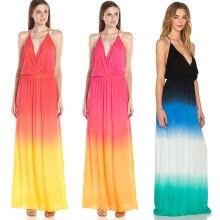 -New Sexy Women Summer Long Maxi BOHO Evening Party Dress Beach Dresses Sundress on JD