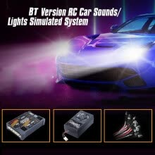 -G.T.POWER E32 BT Car Sounds Light Simulated System for Road Grader Climbing Car SUV Truck RC Car on JD