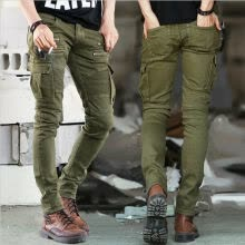 -SUNSIOM Mens Chinos Designer Trousers Stretch Pants Skinny Slim Fit Jeans All Sizes Leg on JD