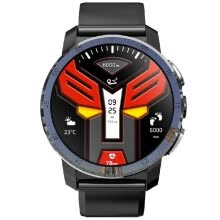 -KOSPET OPTIMUS 4G LTE Smart Watch Android 7.1.1 2GB+16GB 1.39' AMOLED Screen 8.0MP Camera Dual Systems Smart Wristwatch GPS Nano S on JD
