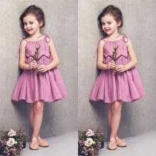-Fashion Baby Girl Summer Dress Kid Party Wedding Pageant Formal Dresses Sundress Clothes on JD