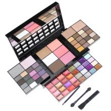 -74 Colors Eyeshadow Lip Gloss Foundation Cream Glitter Sequins Makeup Set on JD