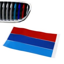 -〖Follure〗Grille Kidney M Sport Stripe 3 Color Decal Vinyl Sticker for BMW All on JD