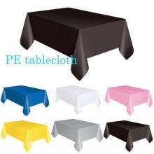 party-tableware-Large Plastic Tablecloth Table Cover Party Decoration Banquet Wedding Catering on JD