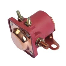 -Red Solenoid Relay 12V Heavy Duty for Ford Starter Car Truck SW3 on JD