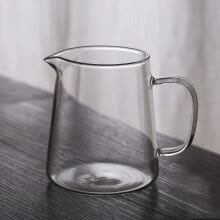 coffee-tea-espresso-Large Clear Glass Gongfu Tea Cha Hai Serving Pitcher Fair Cup 480ml 16oz on JD