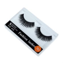 -〖Follure〗1 Pairs Long Makeup Cross Thick False 3D Dense Eyelashes Eye Lashes Nautral on JD