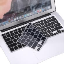 -Silicone Anti-dust Ultra-thin Laptop Keyboard Protective Film Cover Sticker Skin US Layout for MacBook 12' Retina on JD