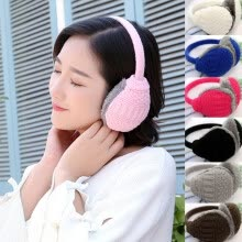 earmuffs-New Women Men Winter Earmuffs Warm Ear Muffs Plush Earlap Warmers Ear Cover on JD