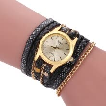 -Fashion Vintage Casual Winding Serpentine Grain Braided Watch Women Quartz Wrist Watch on JD