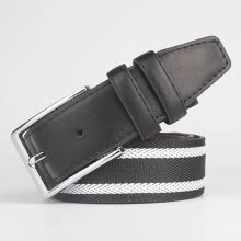 -new Young canvas belts men's casual belts men's new fashion belt stripes designer  men high quality belts for women on JD