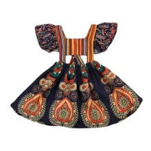 -Summer Toddler Baby Kids Girls Bohemian Dress Party Beach Dresses Sundress 1-6Y on JD