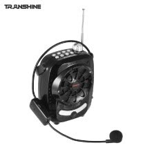 -TRanshine LY-021S Multifunctional Portable Mini Audio Speaker Voice Amplifier with UHF Wireless Microphone Support FM / MIC / BT / on JD