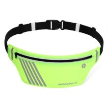 waist-packs-Romacci Ultralight Running Belt Fitness Workout Reflective Waist Fanny Pack for Men Women 55g on JD