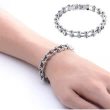 bracelets-bangles-Fashion Bicycle Bike Chain Stainless Steel Bracelet Link Men Women Accessories on JD