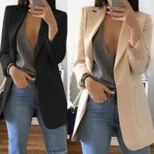 -Women Elegant Fashion Slim Casual Business Blazer Suit Jacket Coat Outwear New on JD