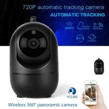 -WiFi Home Security Camera 720P HD Wireless Surveillance System With Motion Detection Auto Motion Tracking(EU Plug) on JD