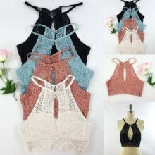 complete-library-in-the-four-branches-of-literature-Women Lace Floral Bralette Bralet Bra Bustier Padded Crop Top Cami Tank Tops New on JD