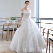 wedding-dresses-2019 New Arrival Vintage Lace Wedding Dress Simple Prinecess Custom-made Plus Size Wedding Gowns Free Shipping on JD