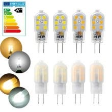 -/510/20X G4 LED Bulb 2W Capsule Light DC 12V Warm Cool Lamp Milky Replace Halogen on JD