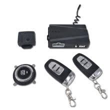 b3917eb3 12 V Alarma de coche Pasiva sin llave Un botón Iniciar Sistema de control  remoto Bloqueo central automático Pulsar botón Iniciar Parar Automóvil PKE