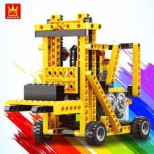 -WANGE Building Block Toys Machinery Series 4 In1 Electronic Power Machinery 292pcs Bricks DIY Educational Kids Gifts NO. on JD