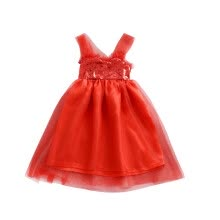 -Kids dresses For Girls Mesh Princess Dress Girl Solid Children Girl Vestidos For Party Wedding Dresses new on JD