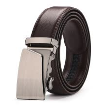-Fashion Famous  Luxury Belts Male 2019 Top sale Automatic Buckle Belts For Men Brown brand Leather  Man  Belt on JD