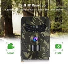 -Hunting Camera 12MP Photo Trap Night Vision Trail Camera 1080P Scout Wild Hunter on JD