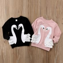 girls-sportswear-Baby Kid Girl Boy Pullover Blouse Cotton Top T Shirt Tee Cartoon Clothes on JD