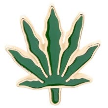 -Cartoon Forest Green Leaf Brooch Flower Fish Tree Maple Leaf Enamel Brooch Pin Jeans Clothes Badge Decoration on JD