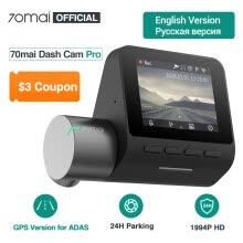 -Original 70mai Dash Cam Pro 1944P 70MAI Car DVR Camera GPS ADAS 140FOV Night Vision 24H Parking Monitor on JD