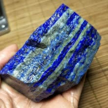 -1PC Natural Lapis Lazuli Gem Stones Crystal Raw Gemstone Mineral Stone Art Stone Home Table Decor Household Decorative on JD