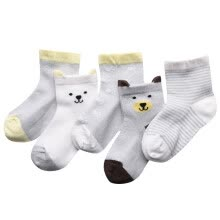 girl-clothing-accessories-Cartoon Infant Socks Birthday Gifts For Baby 5 Pairs/Lot Baby Socks Newborn Boys Girls Toddler Anti-slip Socks on JD
