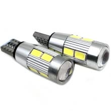 -Car T10 White LED Light Bulb Car T10 LED Bulbs 10SMD 5630 Led Headlight Bulb 2Pcs/Lot 12V W5W on JD