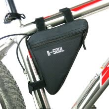 -Bicycle Frame Front Tube Bag Cycling Bike Pouch Holder Saddle Panniers on JD