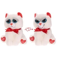 -Feisty Pets Bear Taylor Truelove Feisty Films Adorable Plush Stuffed Toy Grins from Ear to Ear Special Valentine's Gift on JD
