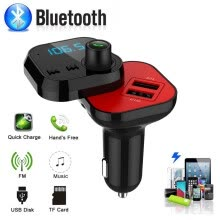 -Wireless Car FM Transmitter Wireless Radio Adapter Dual USB Charger Mp3 Player on JD