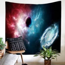 -Universe Galaxy Starry in Outer Space Colorful Space Wall Tapestry Digital Printed Fabric Wall Hanging Tapestry Home New on JD
